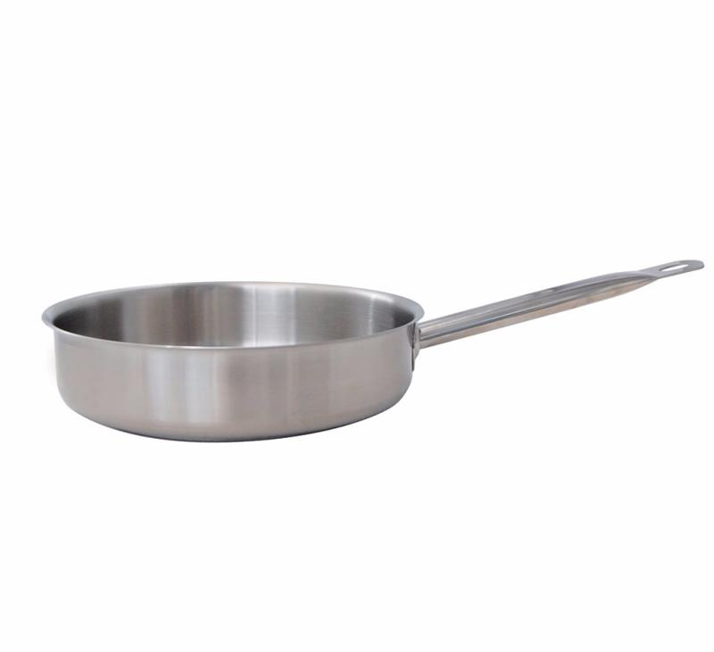 Sauteuses en inox bords droits primary de buyer for Ustensiles de cuisine en inox 18 10