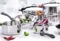 De Buyer sauteuse amovible en inox Twisty &#0216 24