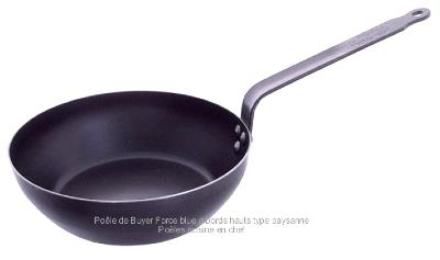 Po le paysanne en fer de buyer 20 cm - Poele de top chef ...